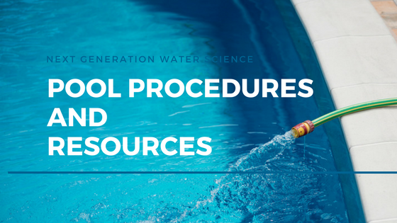 pool procedures and resources